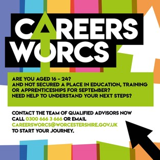Careers service poster