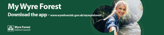 Download the My Wyre Forest app