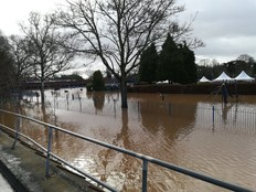 Flooding Stourport