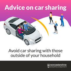 Car sharing graphic