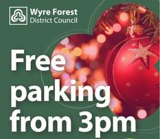 Free parking poster image