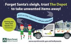 Bulky waste Christmas elves