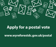 Apply for postal vote image