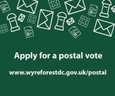 Apply for postal vote image