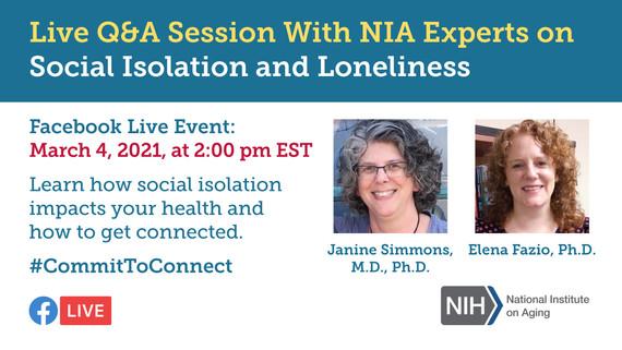 NIA Facebook Live Event