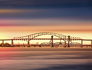 Image of the Bay Bridge in Newark New Jersey