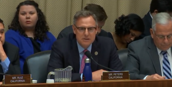 Rep. Peters Questioning