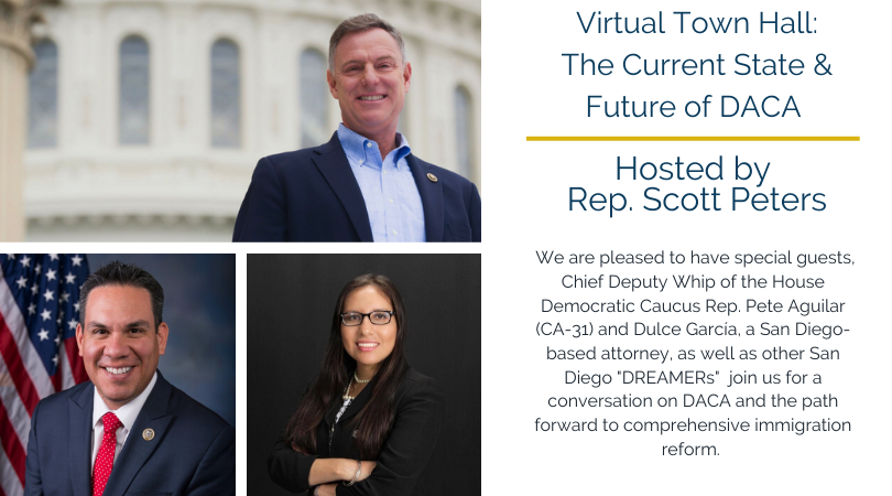 NEW DACA virtual town hall