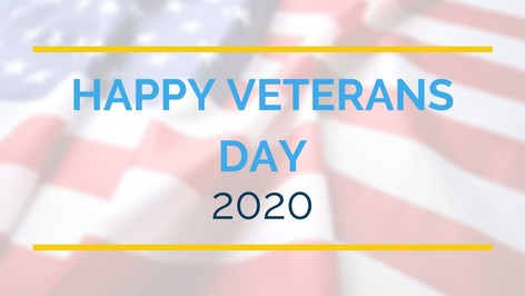 Vets Day 2020 graphic