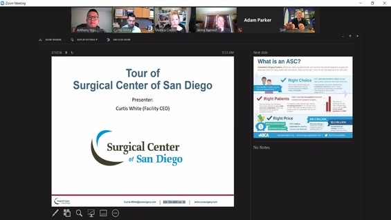 UCSD surgical center
