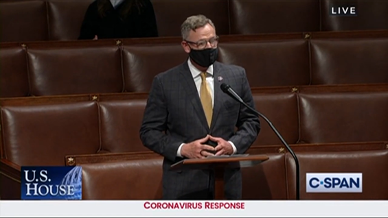 screenshot of floor remarks on budget and recon