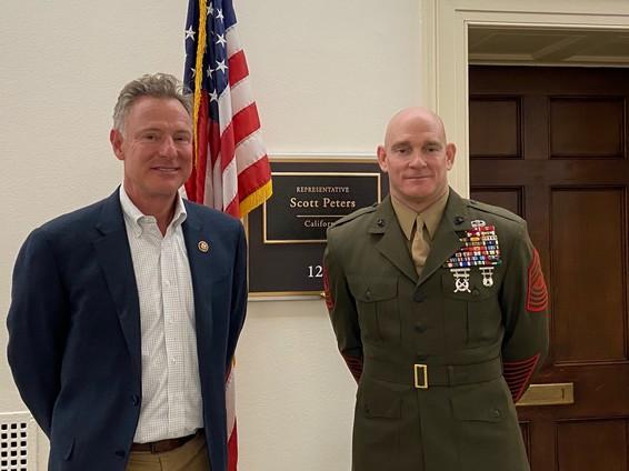 SgtMaj Black, the Sergeant Major of the Marine Corps