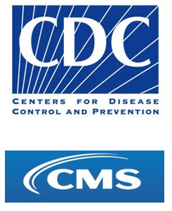 CDC and CMS logo