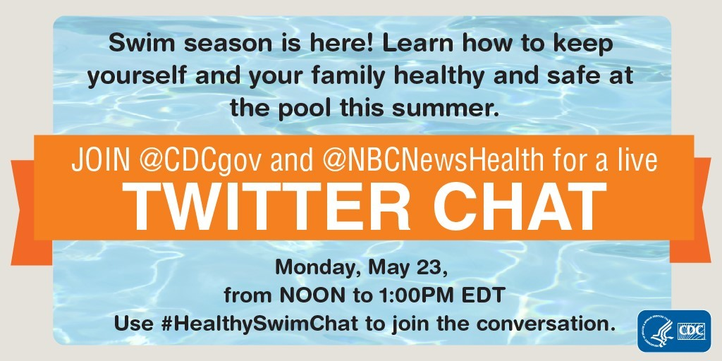 Healthy Swimming Twitter Chat