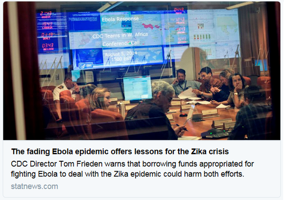 ebola zika