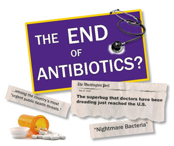 the end of antibiotics