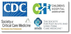 CDC and partner logos