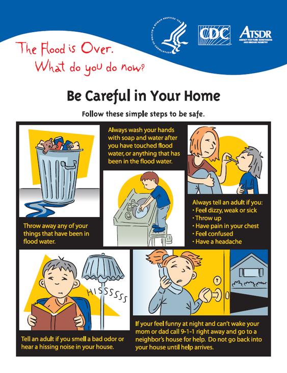 post-hurricane fact sheet for kids
