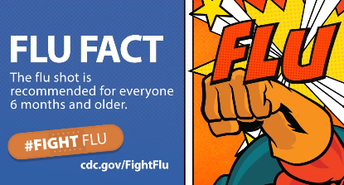 Fight the Flu comic