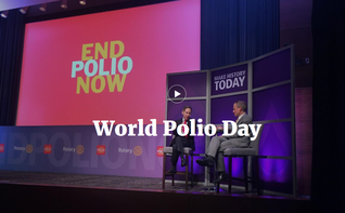 World Polio Day event