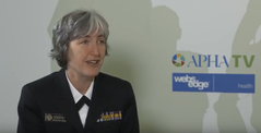 Video of Dr. Anne Schuchat at APHA Annual Meeting