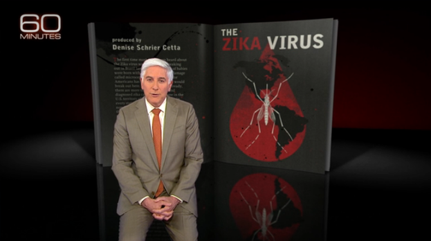 60 Minutes interview about Zika