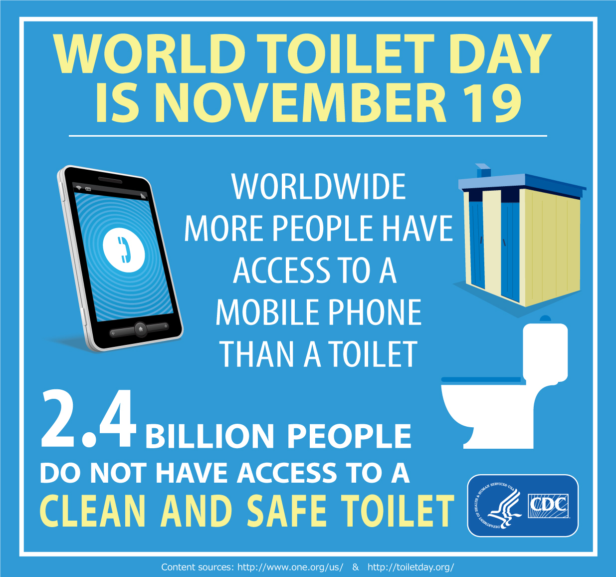 Toilet day graphic