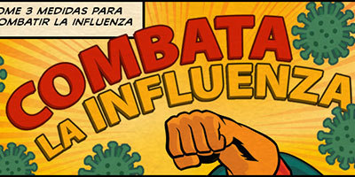Take 3 Actions to Fight the Flu- in Spanish!