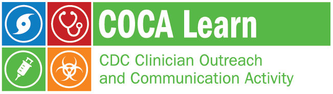 COCA Learn Banner