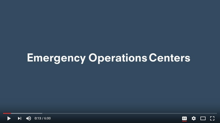 Emergency Operations Center Video