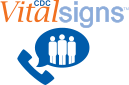 CDC Vital Signs Teleconference Badge