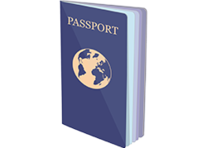 Image of a passport