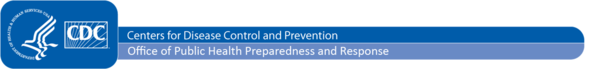 centers for disease control and prevention - office of public health preparedness and response