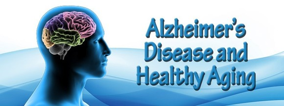 CDC Alzheimer's Disease and Healthy Aging Program Logo Head with Multicolored Brain