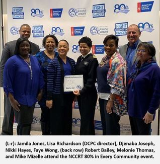 CDC at NCCRT 80% in Every Community Event