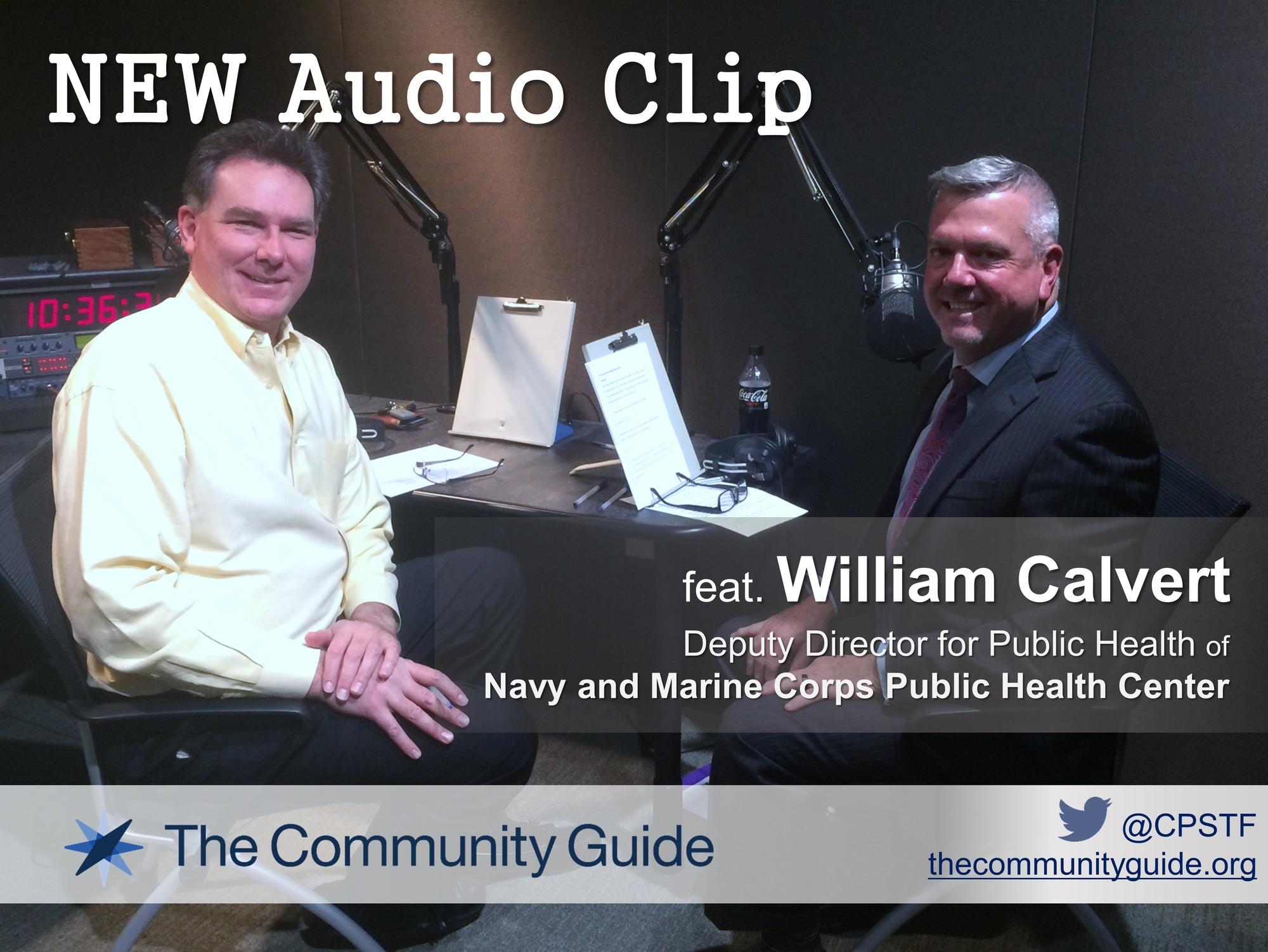 photo of william calvert and john anderton in recording studio