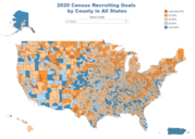 2020 Census Recruiting Goals by State