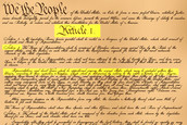 Article One in the U.S. Constitution