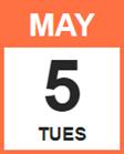 Tuesday, May 5, 2020