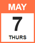 Thursday, May 7, 2020