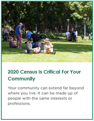 The 2020 Census Is Critical for Your Community