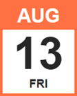 Aug 13