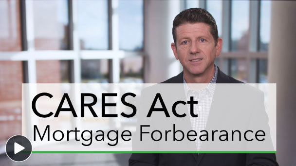 Screenshot of mortgage forbearance video