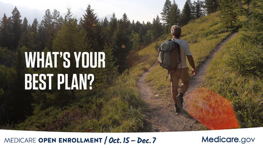 """What's your best                                             plan?"" image linked to https://www.medicare.gov/plan-compare"