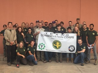 Texas Conservation Corps Team