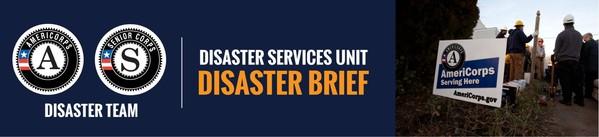 Disaster Brief Banner