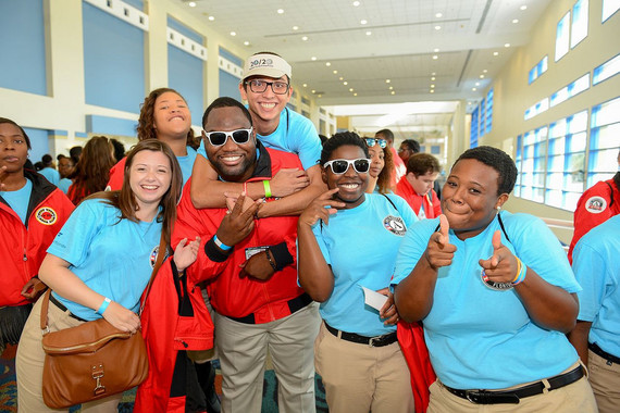 City Year AmeriCorps members