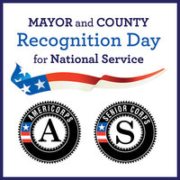 Recognition Day for National Service is coming on April 4, 2017