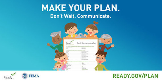 Having a family communications plan can prevent confusion during emergencies.
