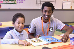 The Baltimore Reading Partners program is marking five years serving students in the city's schools..